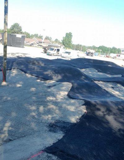 asfaltering av skatepark