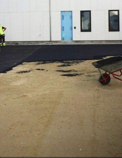 legging av asfalt